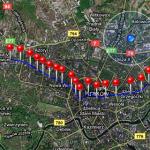 Do mapy dodano możliwość przełączania trybu wyświetlania oraz linie łączącą punkty trasy